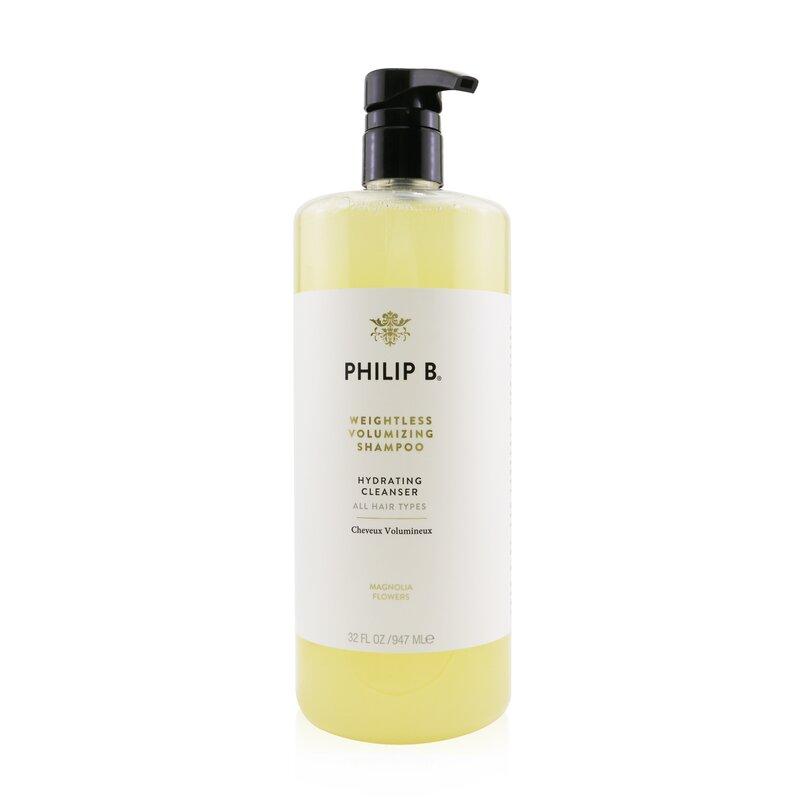 Philip B 菲利普 B 轻盈丰厚洗发水(适合所有发质) 温和滋润   自然蓬松  清新心悦 947ml