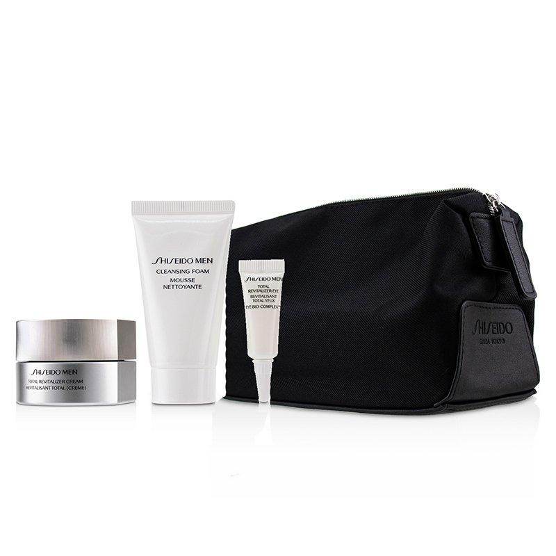 Shiseido 资生堂 男士多效活肤套装(面霜50毫升+洁面30毫升+眼霜3毫升)