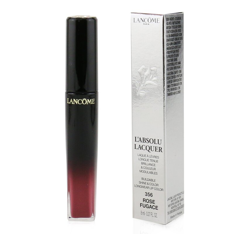 Lancome 兰蔻 绝对完美水唇釉 L'Absolu Lacquer Buildable Shine & Color Longwear Lip Color  8ml