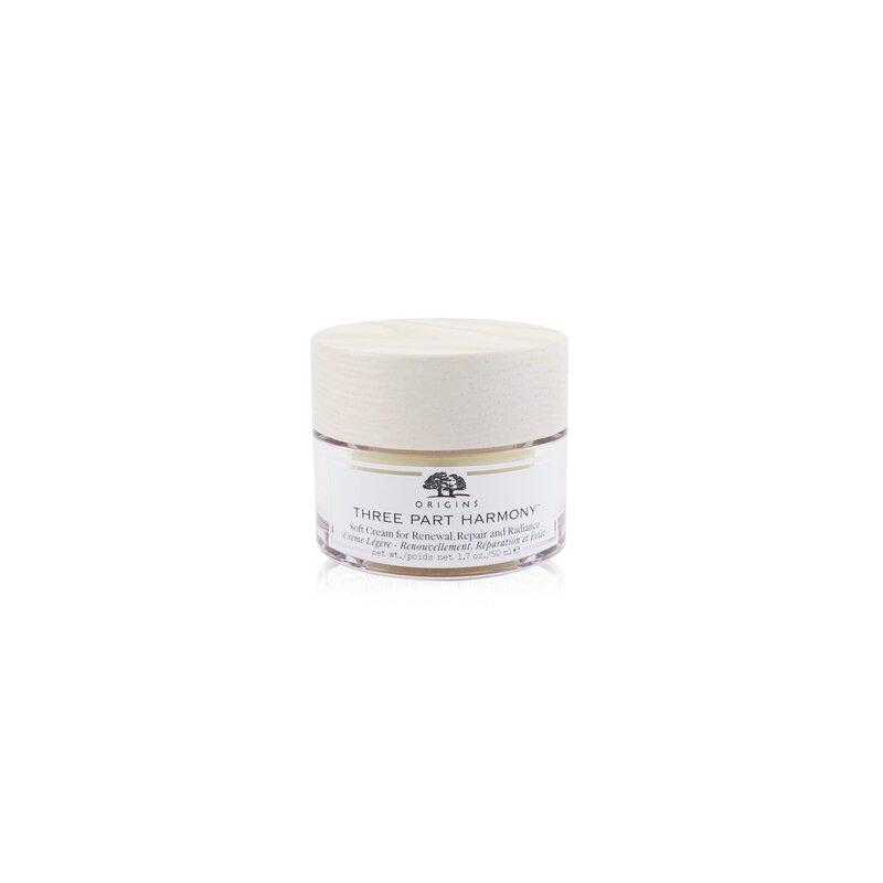 Origins 悦木之源  极致滋润柔肤面霜 Three Part Harmony Soft Cream For Renewal, Repair & Radiance