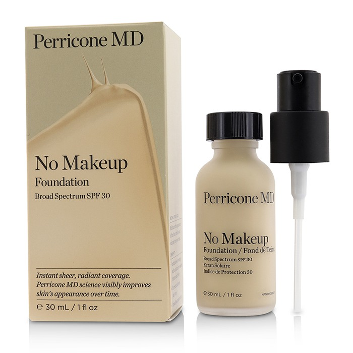 Perricone Md No Makeup Foundation Nude Spf 20 --30ml/1oz