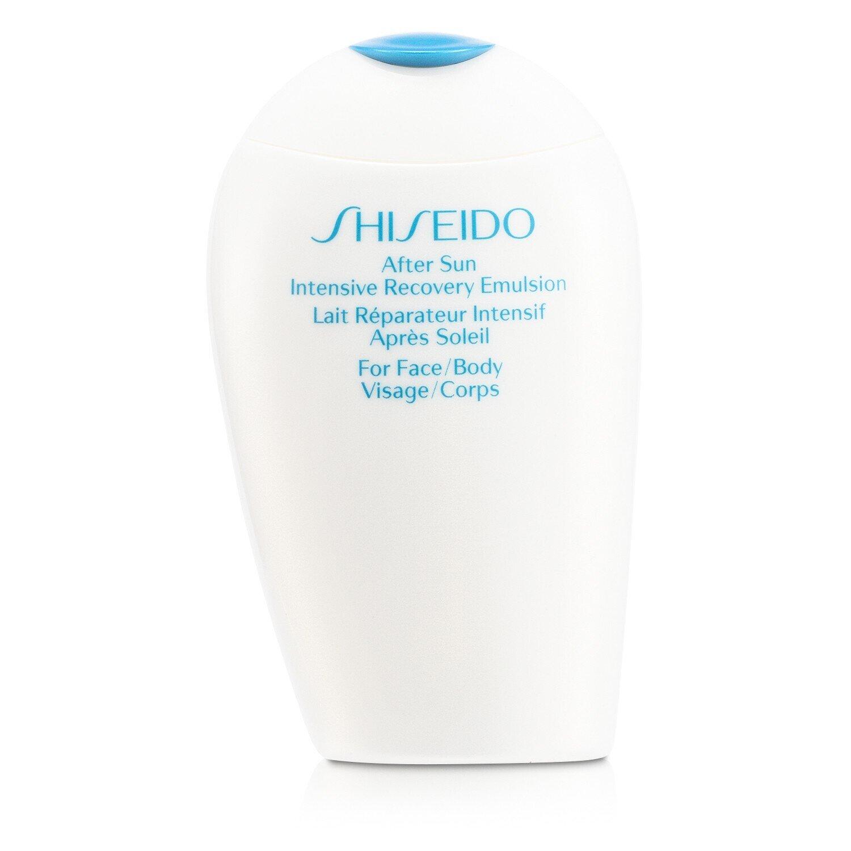 Shiseido - After Sun Intensive Recovery Emulsion - 300ml/10oz The Elixir MJ Care Korean Beauty Cosmetic Green Caviar Hydrating Face Sheet Mask Sheet (23g, 20 Sheets)