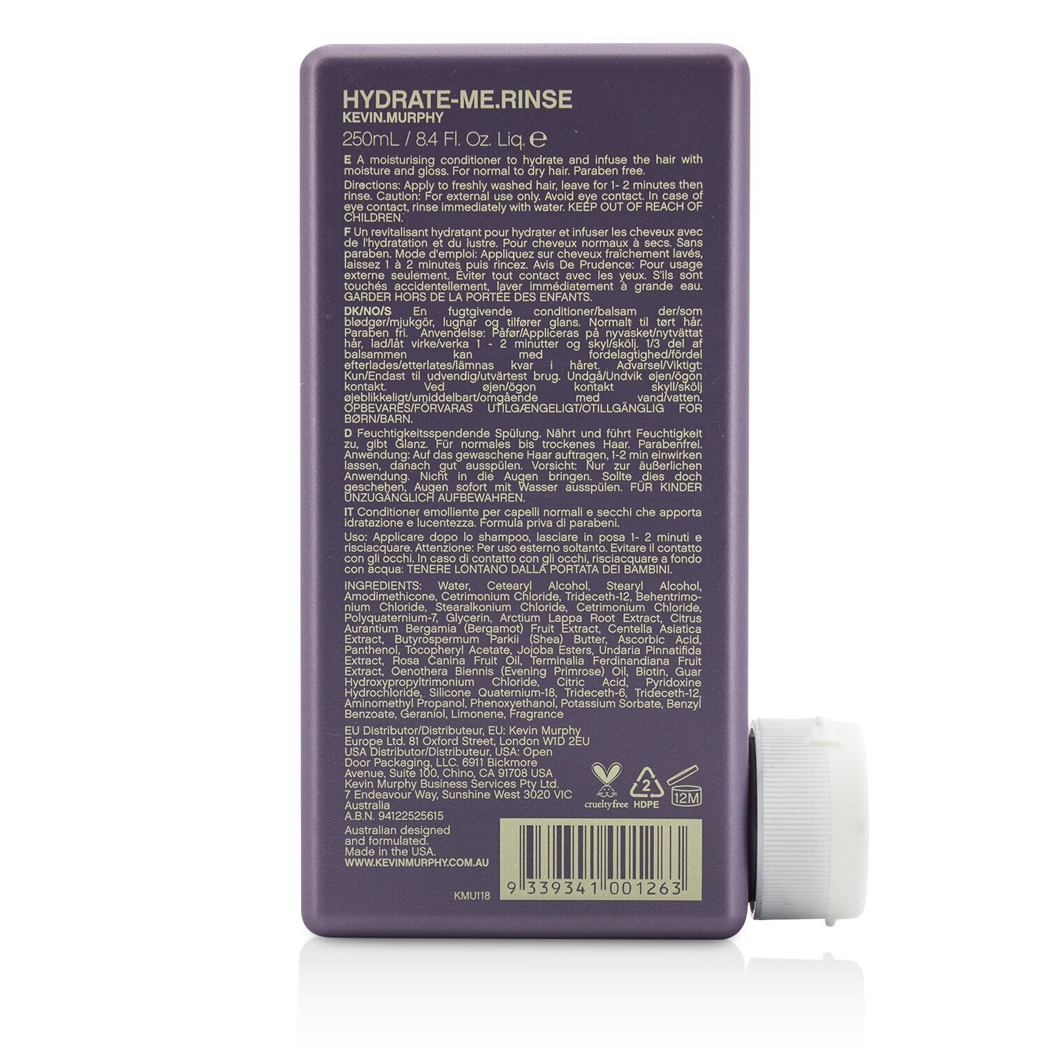 Kevin-Murphy-Hydrate-Me-Rinse-Kakadu-Plum-Moisture-System-for-Colored-Hair
