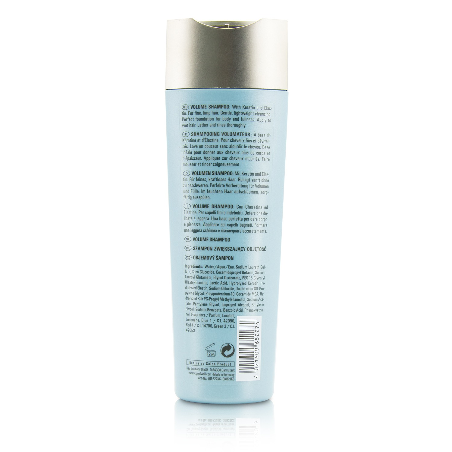 Goldwell Kerasilk Repower Volume Shampoo (For Fine, Limp